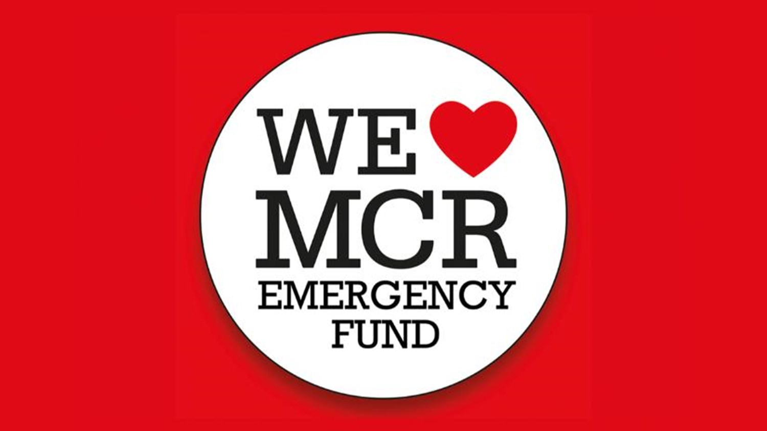 Fundraising for the We Love MCR Emergency Fund