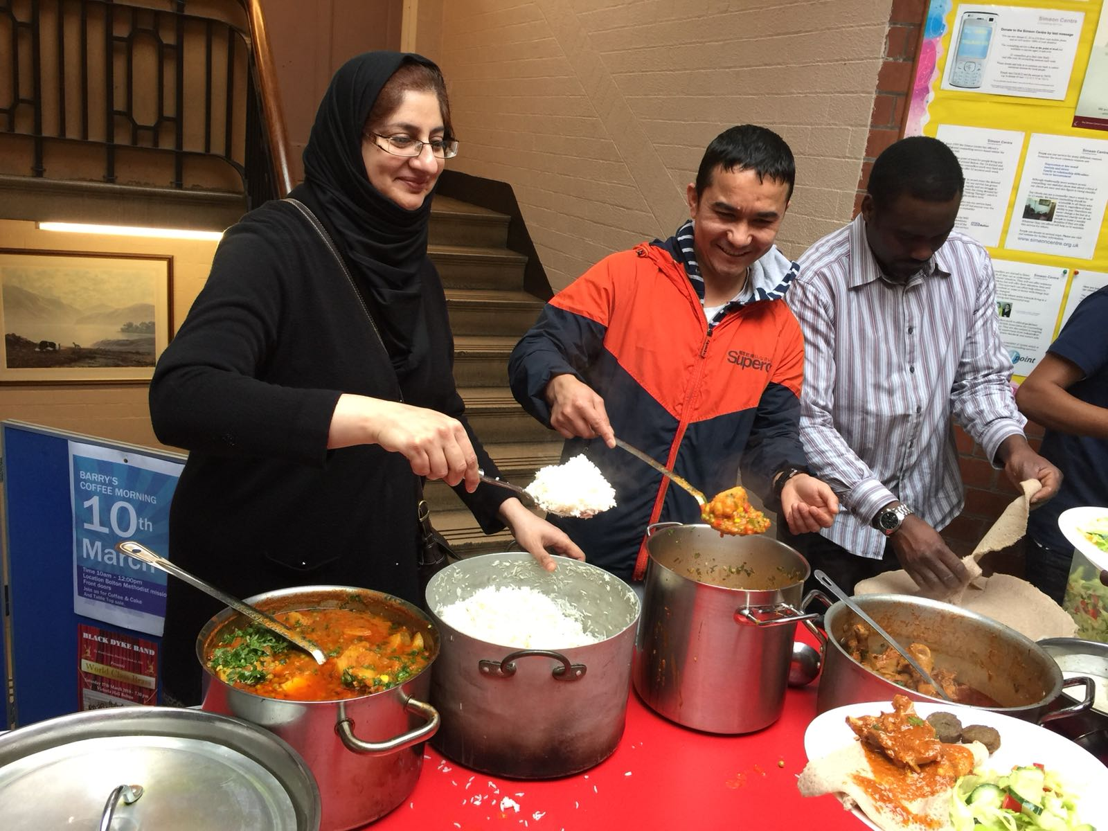 Catering at the Bolton Hate Crime Awareness Event: 19th February 2018