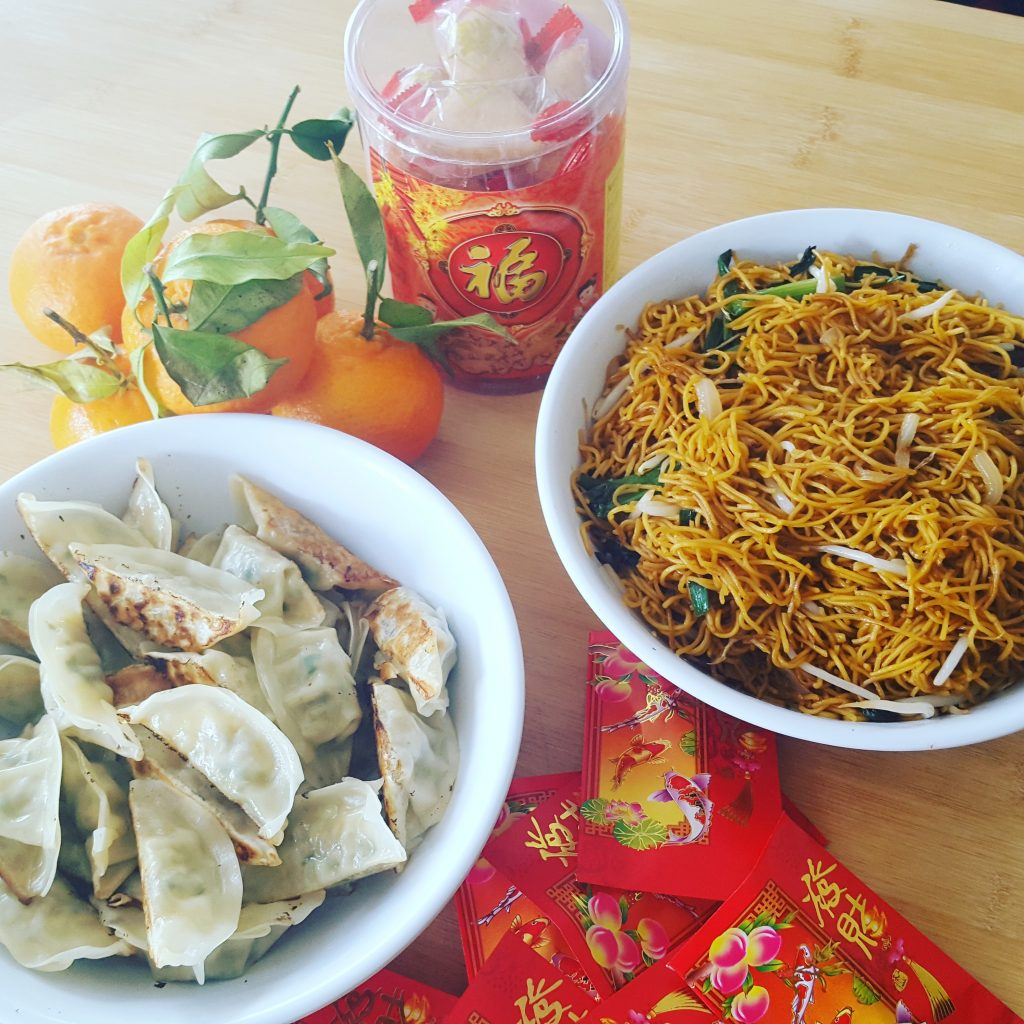 A selection of goodies to try for Chinese New Year