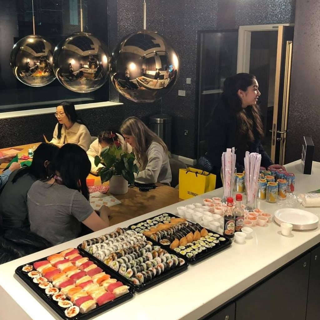 Sushi and Origami event