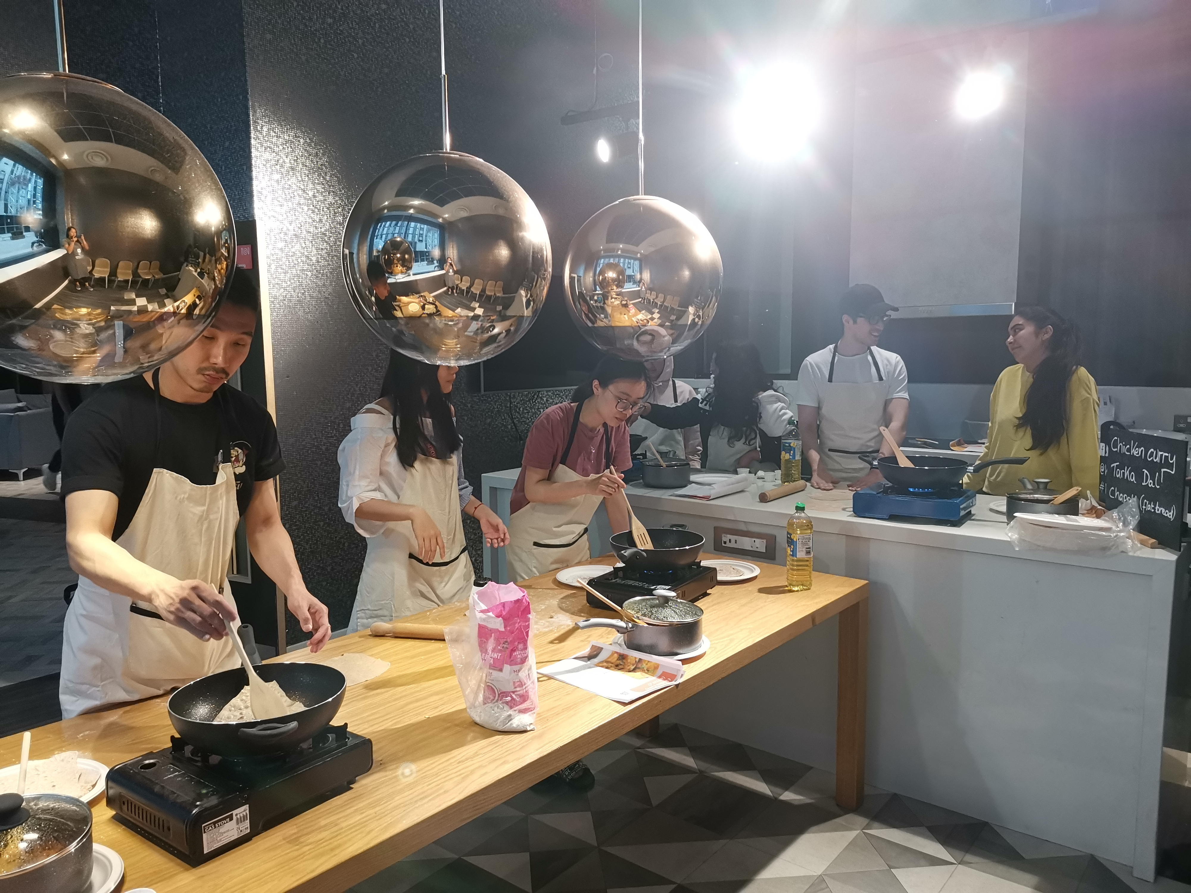 Bespoke Cookery Class: Indian Curry and Flat Breads